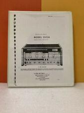 Wavetek Model 2002a Sweepsignal Generator Instruction Manual