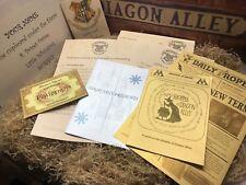 Mega Harry Potter Hogwarts Acceptance Letter - Personalised Gift - Gift Box