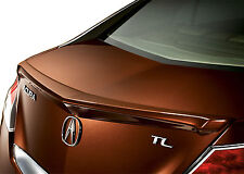 PAINTED SPOILER FOR AN ACURA TL LIP FACTORY STYLE SPOILER 2009-2014
