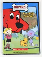 Clifford The Big Red Dog ~ Fun And Games! DVD-ROM ~ Promo Phonics Sampler - New