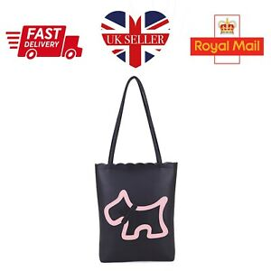 Long & Sons Women Shopping Bag Shoulder Ladies Dog Tote Handbag Scottish Terrier