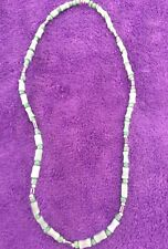 "Beautiful Jade Green 18"" Necklace"