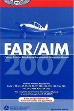 FAR/AIM: Federal Aviation Regulations/Aeronautical Information Manual 2007 by F…