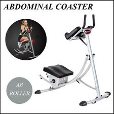Ab Coaster Max Exercise Machine 6 Abs Abdominal Crunch Muscle Buliding Equipment