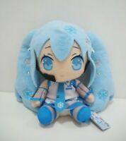 "Hatsune Miku Vocaloid Yuki Snow Taito  2012 Plush 6"" Stuffed TAG Toy Doll Japan"