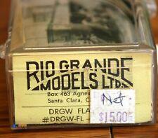 D&RGW Flanger  Rio Grande Models Kit 3002 Rare HOn3
