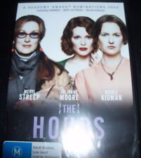 The Hours (Nicole Kidman Meryl Streep) (Australia Region 4) DVD – NEW