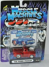 Funline 2001 - MUSCLE MACHINES - 1956 FORD PICKUP - red - 1:64