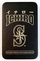 Ichiro Suzuki (2001 Authentic Images) Limited Edition Commemorative Case, COA