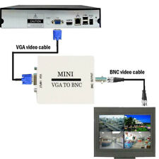 HD VGA to BNC Video Converter Adapter Digital Switcher Box For HDTV Monitor CO
