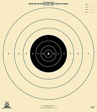 "Official NRA B-6 [B6] 50-Yard Slow Fire Pistol [21"" x 24""]--5 on tagboard"
