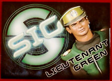 Captain Scarlet - LIEUTENANT GREEN - SIG Embossed Chase Card SIG5