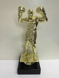 New Marble Based Boxing Trophy FREE ENGRAVING