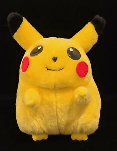 "Vintage 1999 Pokemon Pikachu Stuffed Plush Toy Nintendo Play by Play 9"" Rare"