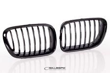 schwarz hochglänzend beschichtet Nieren Set BMW X5 E53 VFL salberk 5301L