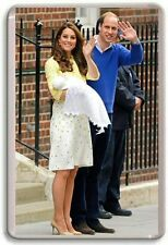 WILLIAM AND KATE, ROYAL BIRTH, PRINCESS CHARLOTTE, FRIDGE MAGNET 04 FREE POSATGE