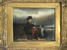 19th Century Oil Painting - Companion - Signed - Listed Artist Richard Ansdell