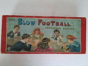 1910 Spears Blow Football Improved Edition Game