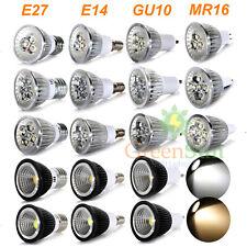 GU10/MR16/E14/E27 Downlight Spot Foco SMD LED Bombillas Luz Lámpara 1/4/10Pcs