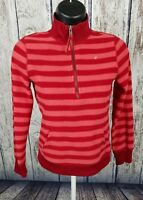 OLD NAVY STRIPED FLEECE TOP GIRL'S PULL OVER SHIRT SWEATSHIRT Size Large
