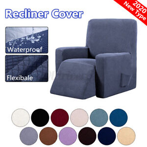 Recliner Cover Chair Sofa Slipcover Stretch Armchair Protector Covers Waterproof
