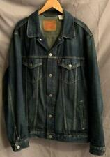 Levi's Men's Size XXL 100% Cotton Button Front Faded Denim Jean Jacket!