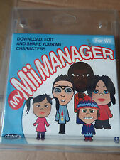 NINTENDO Wii MY MII MANAGER PACK - download edit and share your Mii