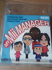 Nintendo WII Il mio Mii Manager Pack-scarica modifica e condividi il tuo Mii