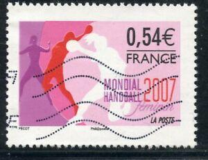 TIMBRE FRANCE OBLITERE N° 4118 // SPORT // HANDBALL FEMININ  EN FRANCE
