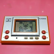 FLAGMAN FL-02 GAME & WATCH SILVER 1980 NINTENDO Retro Japan Junk