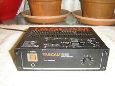 Tascam PA-20B, Tabletop Version, Stereo/Mono 20 Watt Power Amplifier, Vintage