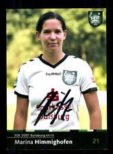 Marina Himmighofen Autogrammkarte FCR Duisburg 2009-10 Original Signier+A 170280