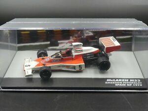 Promocar 1:43 Emerson Fittipaldi McLaren M23 Spain GP F1 1974 new sealed in pack