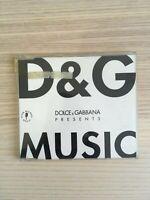 Marcolin / Salton - Dolce & Gabbana Music - CD Single PROMO - EMI1996 RARO!