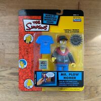 The Simpsons Mr. Plow Homer WOS Action Figure Playmates - Brand New