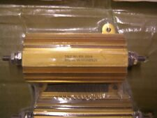 1 Vishay Dale Nh 100 10 Ohm 1 100w Aluminum Power Resistor New