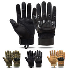 Tactical Hard Knuckle Safety Work Gloves Men Heavy Duty Hand Protection Gloves