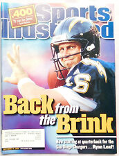 Ryan Leaf San Diego Chargers 2000 Sports Illustrated