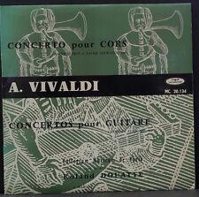 VOGUE CONTREPOINT MC. 20.134 VIVALDI CONCERTOS POUR GUITARE AUBIN DOUATTE FRANCE