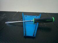 #ag900  SNAP-ON TOOLS - Flat Tip  Screwdriver, Green/Black Handle SGD8