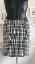 Womens/Ladies Bodycon Stretch Checked Mini Skirt Size 8 Miss Selfridge