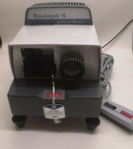 Vintage Braun Nornberg Baximat-S Electric Projecter 353121