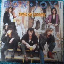"BON  Jovi rare Australian Never Say Goodbye/Wanted Dead or Alive 7"" record.1987"