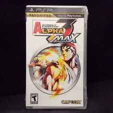 Street Fighter Alpha 3 MAX (Sony PSP, 2006) BRAND NEW