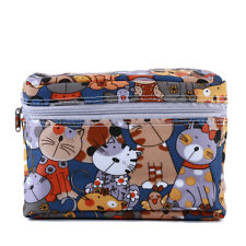 Portable Travel Reusable Eco-friendly Owl Print Baby Diaper Bags Washable ONE