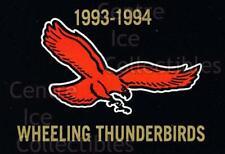 1993-94 Wheeling Thunderbirds #1 Checklist