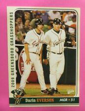 2009 Multi-Ad Sports, Greensboro Grasshoppers, Manager - DARIN EVERSON