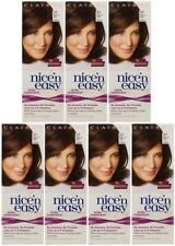 7x CLAIROL Nice'n Easy Non-Permanent 77 Medium ASH Brown No(Ammonia/Peroxide/PPD