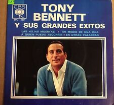 """TONY BENNETT -AUTUMN LEAVES / IN THE MIDDLE OF AN ISLAND- MEX. 7"""" EP PS SOC SOL"""