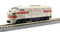 KATO 1761313 N EMD F3A Chicago Burlington & Quincy Freight 9960A 176-1313 - NEW